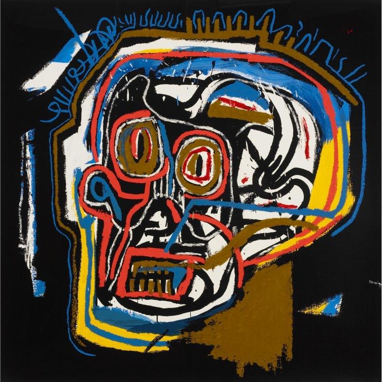 Image 1 - Jean-Michel Basquiat untitled (head)