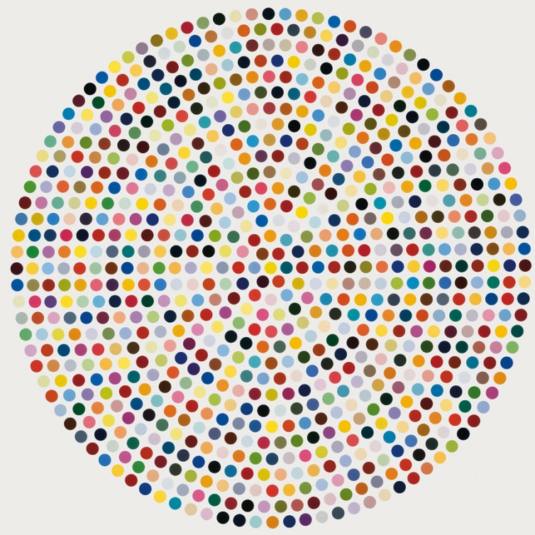 Spot painting HIRST