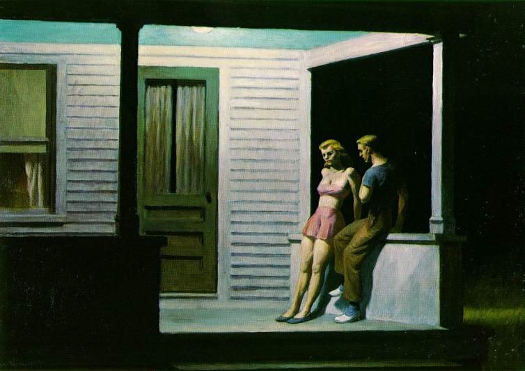 summer-evening-by-edward-hopper