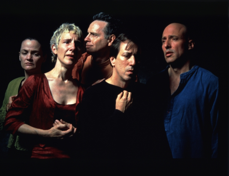 Bill Viola, The Quintet of the Unseen, 2000