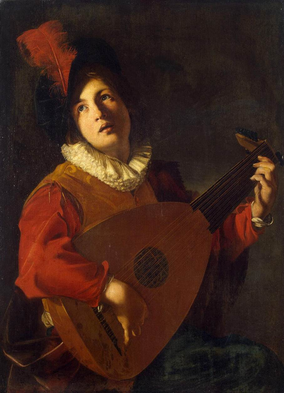Nicolas_Tournier_-_Lute_Player_-_WGA23041