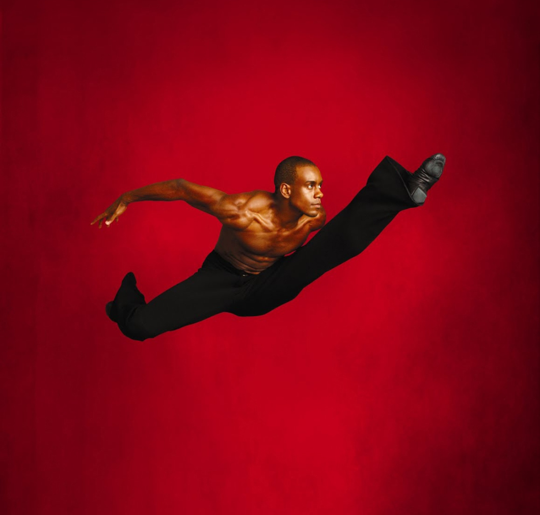 2011-2012 SEASON IMAGE - Alvin Ailey American Dance Theater's Kirven James Boyd.  Photo by Andrew Eccles