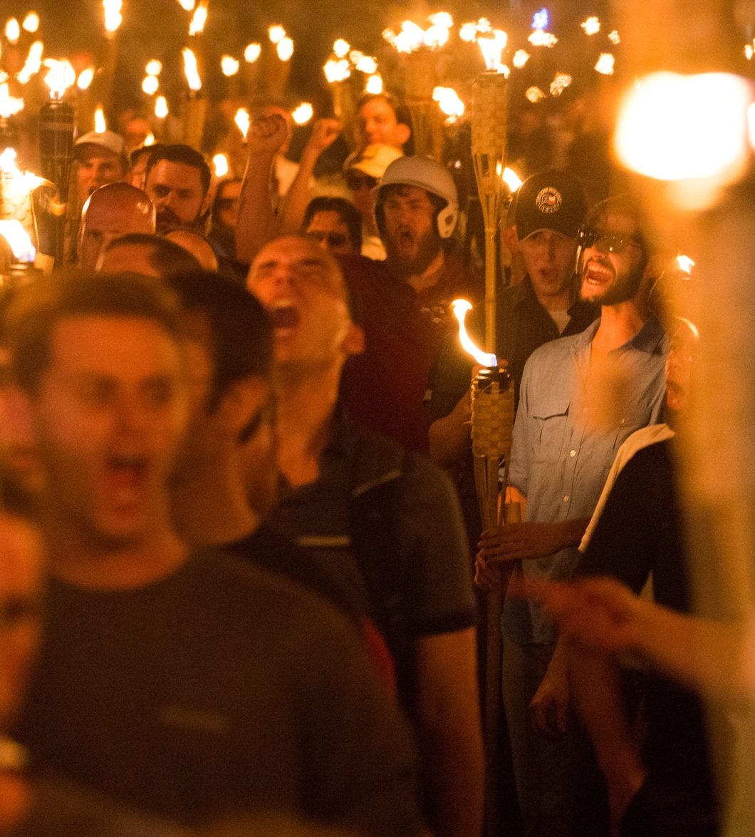 The 'Unite the Right' rally in Charlottesville